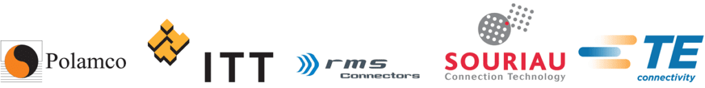 Polamco | ITT | RMS Connectos | SOURIAU Connection Technology | TE Connectivty