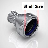 Circular Connector Shell Size