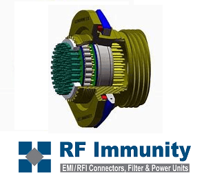 Filtered Connectors from RF Immunity